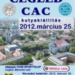 Nevezési felhívás - Cegléd CAC 2012.03.25.