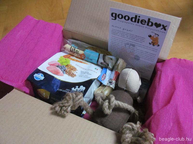 Januári Goodiebox